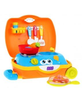 Detská kuchynka v kufríku